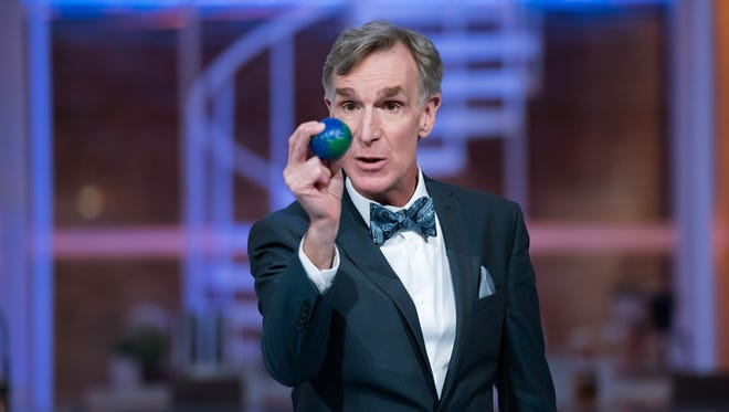 """I'm Bill Nye, and I'm here to SAVE THE WORLD,"" the Netflix host says."