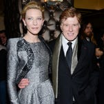 Cate Blanchett and Robert Redford attend the 79th Annual New York Film Critics Circle Awards at the Edison Ballroom on Monday, Jan. 6, 2014, in New York.