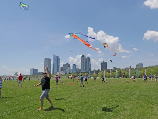 Go fly a kite, or watch a pro do it, at the Family Kite Festival Saturday and Sunday in Veterans Park.