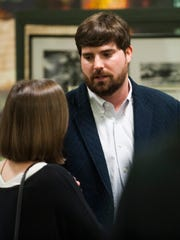 Clay McInnis is a finalist for Emerge Montgomery's Young Professional of the Year during a ceremony at Old Alabama Town in Montgomery, Ala. on Wednesday evening February 3, 2016.