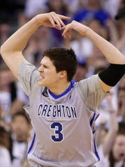Doug McDermott (3) had the Creighton crowd in a frenzy