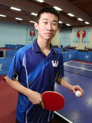 Pleasantville High School junior Kai Zhang is a rising