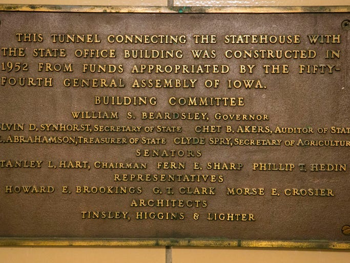 5 Photos Inside The Tunnels To The State Capitol Building