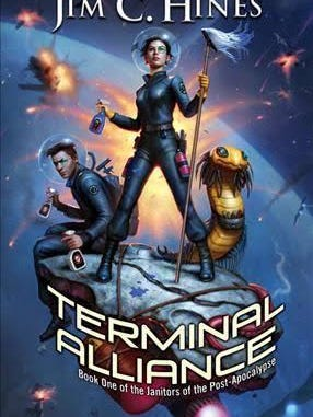 """Terminal Alliance"" by Holt author Jim Hines."