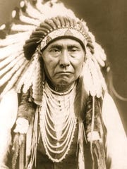 Chief Joseph portrait, circa 1903