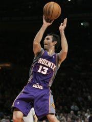 Suns guard Steve Nash on Jan. 24, 2007.