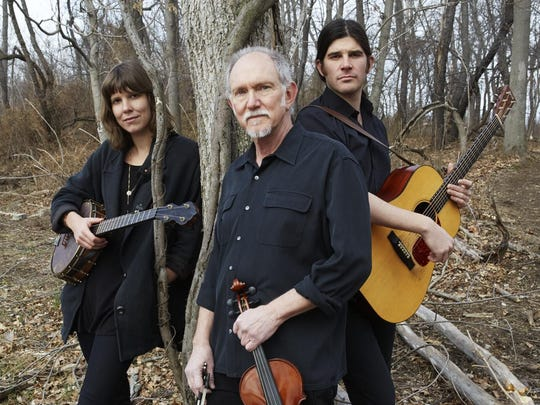 Fiddler Bruce Molsky and his new trio, Molsky's Mountain Drifters, will perform Saturday at the Morgan Opera House in Aurora.