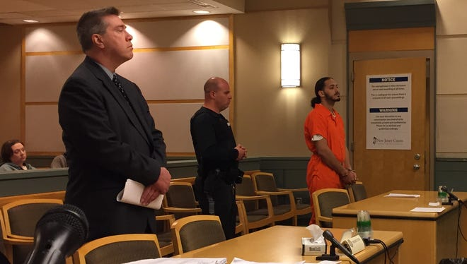 Pedro L. Santos 4th appeared on Thursday before Cumberland County Superior Court Judge Robert Malestein. Santos was read details of the manslaughter charge he faces in connectioin with a May 14 fight.