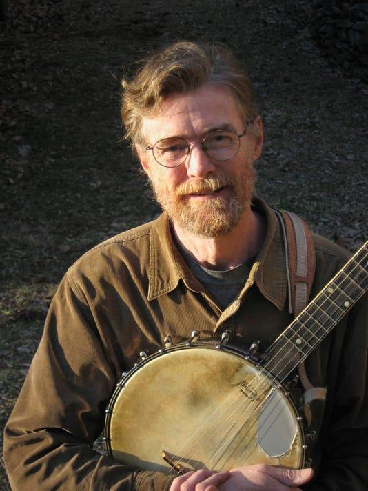 Phil Jamison with banjo 2011