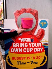 It's Bring Your Own Cup Day Friday and Saturday at area 7-Eleven stores.