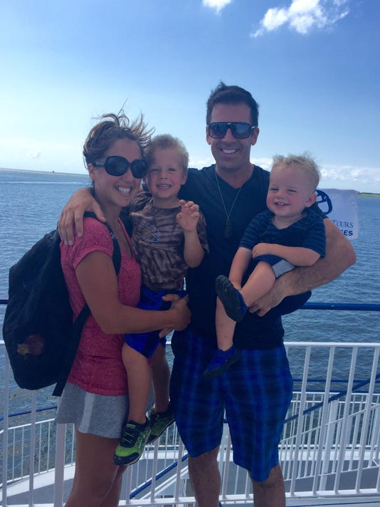 Samantha Adams family