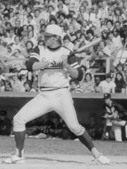 Kirk Gibson was a star WR on MSU's football team, then went out for baseball as a junior. His talents wowed baseball scouts and he was a first-round pick of the Tigers in 1978.