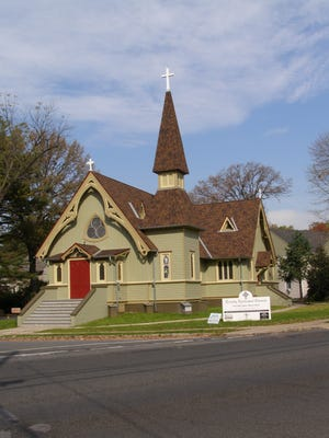 Trinity Episcopal Church was founded in 1872.