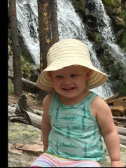 Beatrix Roberts, 2, has improved through an early intervention