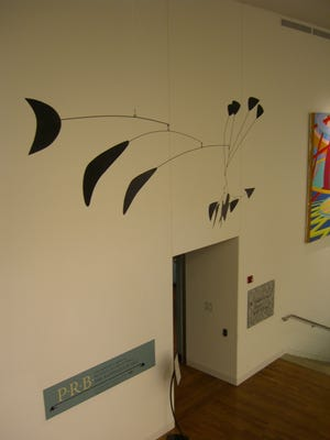 """Black Crescent"" on display at the Delaware Art Museum"