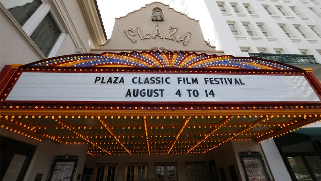 The Plaza Theatre downtown will be the site of the Plaza Classic Film Festival.
