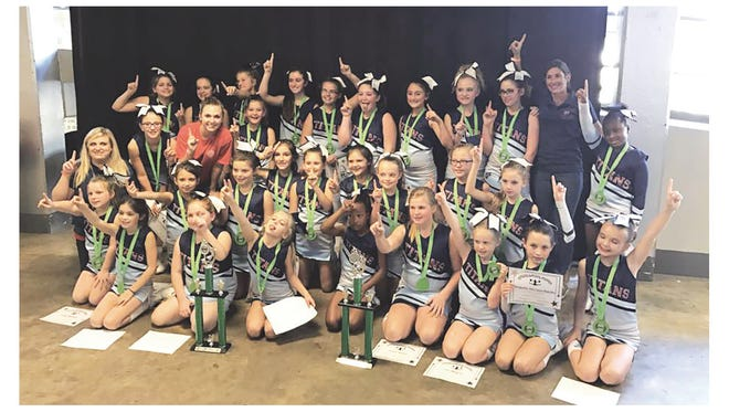 2016 Fairview Titans U10 and U12 Cheerleaders