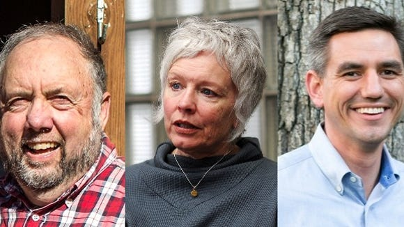 John Ager, Susan Fisher and Brian Turner