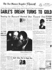 Sept. 1, 1972. Wrestler Dan Gable wins Olympic Gold.