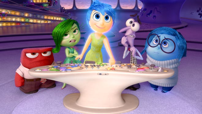 What would 'Inside Out' be without Anger, Disgust, Joy, Fear and Sadness?