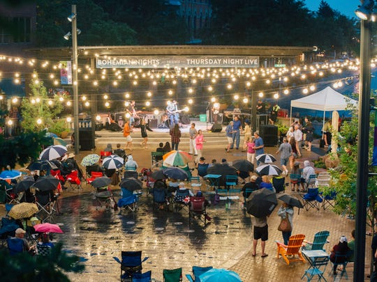 In its eighth year, Bohemian Nights Presents Thursday Night Live will take over Old Town Square for free Thursday night summer concerts.