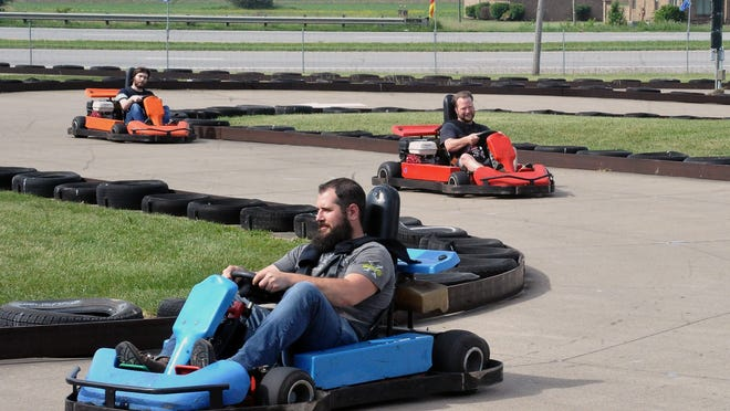 Go-kart racing was in full swing Tuesday at Putt-N-Stuff, just off of U.S. Route 30 south of Orrville. The amusement park opened several activities over the last two weeks and will be adding more by the end of the month.
