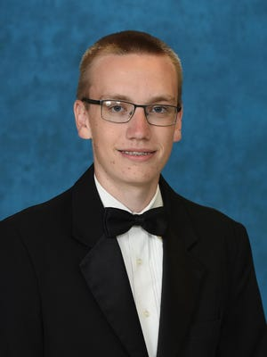 Matthew Russell Shipman, valedictorian of the Greenbrier High School Class of 2020, will attend the University of Georgia and major in English.