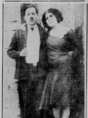 Queen Nelly Medina and Pablo Salcedo.