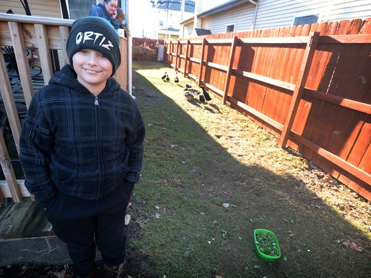Coby Ortiz, an autistic boy, and the eight ducks the borough of Richland says it is illegal for him to keep may get to keep his ducks after all.