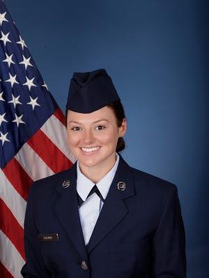 U.S. Air Force Airman 1st Class Emily Brown