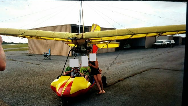 A Quicksilver ultralight aircraft owned by Enola resident Timothy Bowles. The aircraft was stolen while hangered at Reigle Airport sometime on or after Wednesday, police said.  Police request anyone with information about the incident, or anyone who may have witnessed the aircraft leaving the airport, to call them at 717-272-2054 or 717-838-1376.