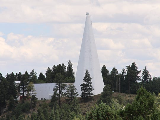 The Sunspot Solar Observatory telescope sits next door to the Apache Point Observatory. On Sept. 6, the observatory was closed and evacuated due to an undisclosed security issue.