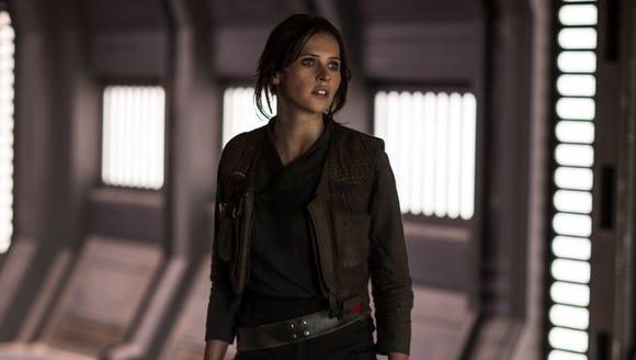 Jyn Erso (Felicity Jones) in 'Rogue One: A Star Wars
