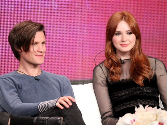 """Actors Matt Smith, left, and Karen Gillan from """"Doctor Who"""" will appear at Wizard World Portland."""