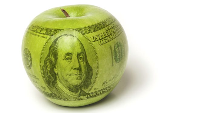 High cost of education apple