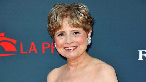 FILE - In this Sept. 27, 2012 file photo, Deborah Borda arrives at the Los Angeles Philharmonic's 2012 Opening Night Gala in Los Angeles. Borda is leaving the Los Angeles Philharmonic to return to the New York Philharmonic, reversing the switch she made nearly two decades ago. The New York Philharmonic said Wednesday she has been hired as president and chief executive officer, effective Sept. 15.