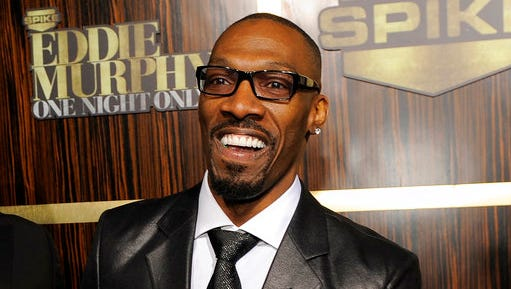 """FILE- In this Nov. 3, 2012 file photo, comedian Charlie Murphy appears at """"Eddie Murphy: One Night Only,"""" a celebration of Murphy's career in Beverly Hills, Calif. Murphy, older brother of actor-comedian Eddie Murphy, died Wednesday, April 12, 2017 of leukemia in New York. He was 57."""