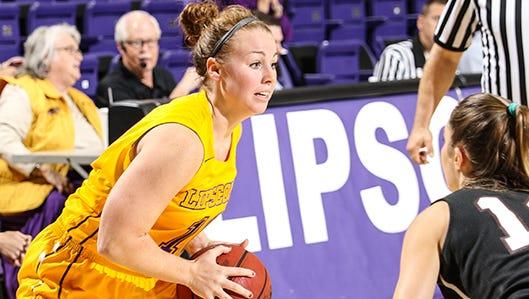 Lipscomb's Denay Fothergill helped Lipscomb stretch its win streak to three games last week.