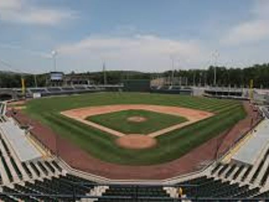 Ramapo baseball stadium where the Rockland Boulders