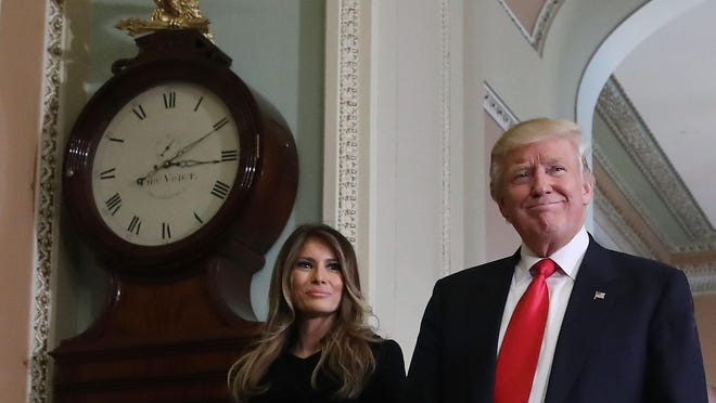President-elect Donald Trump and his Slovenian born wife Melania Trump move into the White House on Jan. 20. Could interest in Slovenia grow with Melania as First Lady?