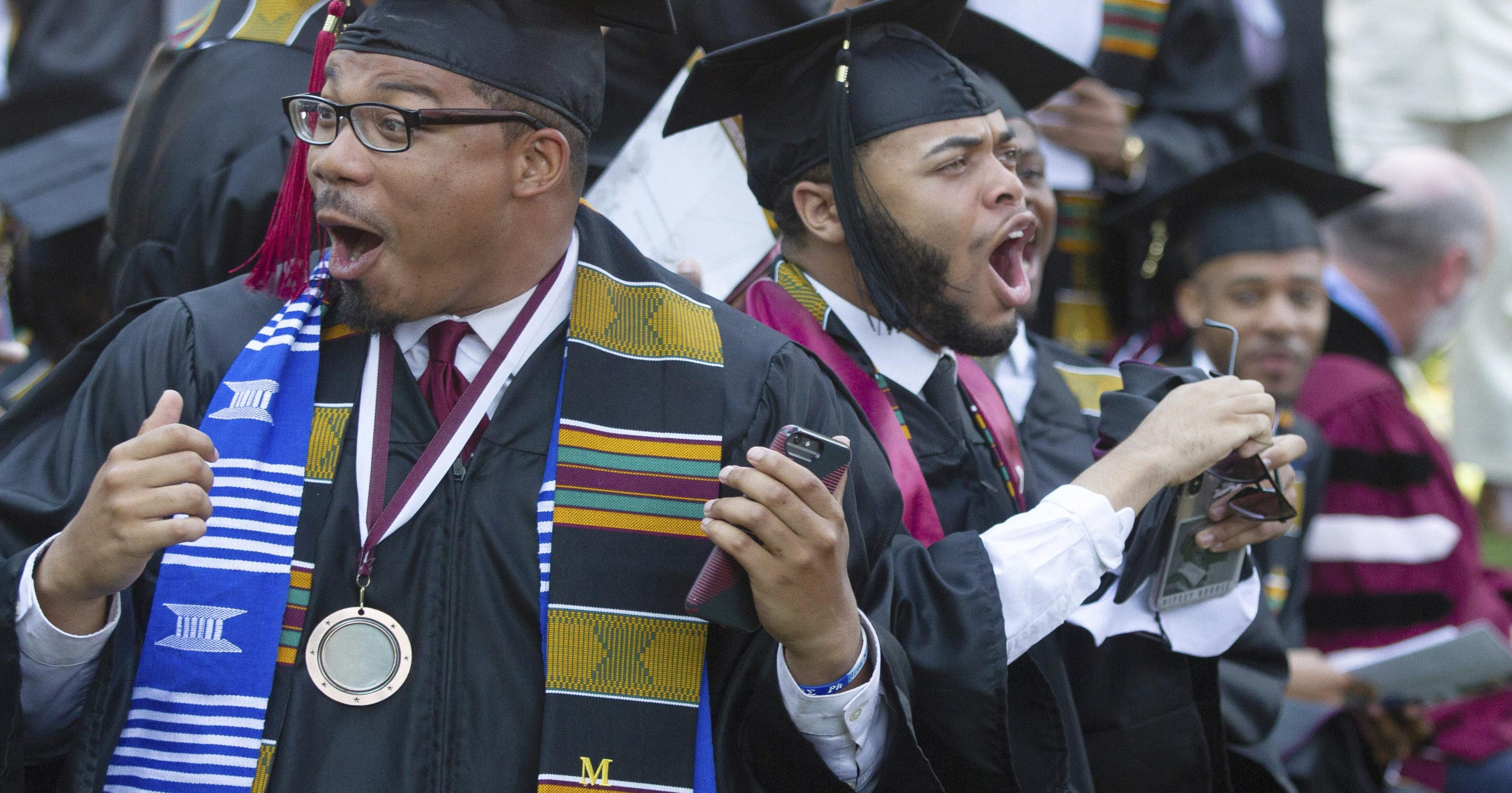Image result for Morehouse College grads are surprised by a billionaire's promise to pay off their student loans