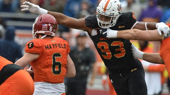 NFL mock draft: Josh Allen goes No. 1 ... but not to the Browns