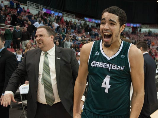 NCAA Basketball: Horizon League-Green Bay vs Wright State