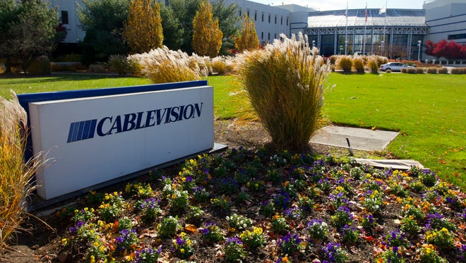 Cablevision Systems Corp. headquarters in Bethpage, N.Y.