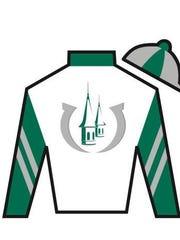Silks for the Churchill Downs Racing Club.