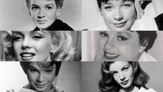 The women of the Rat Pack.