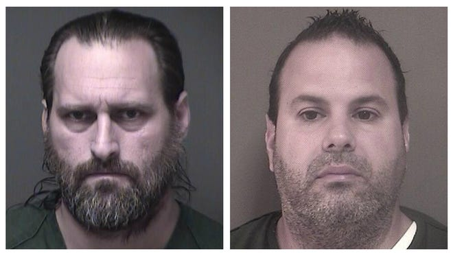Todd Kuchera, left, and Elmer Falcon, right, were arrested in separate sexual assault cases.