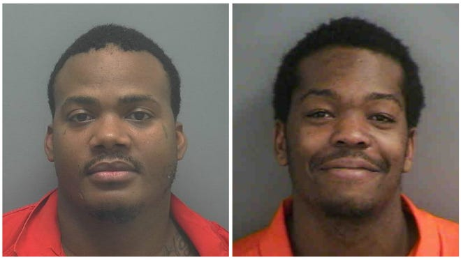 Phillip Bouie and David Daniels were arrested for a March 9 Naples burglary.
