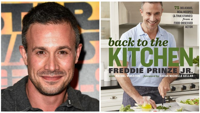 "Prinze, currently hosting ""First Impressions"" on USA, just released his first cookbook, ""Back to the Kitchen."""