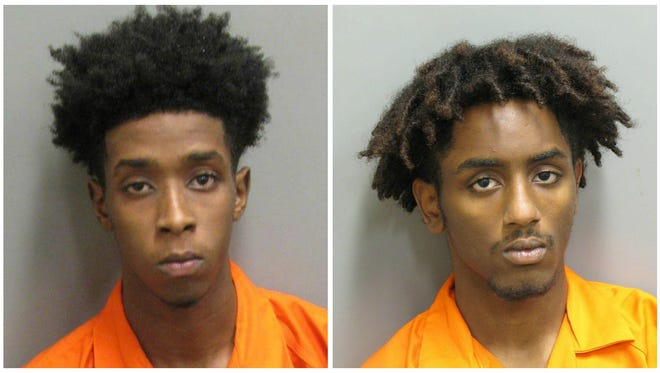 Gregory Davis and Johnny Butler are each charged with assault 2nd and robbery 1st